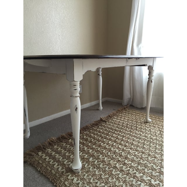Vintage Restored Dining Table - Image 8 of 9