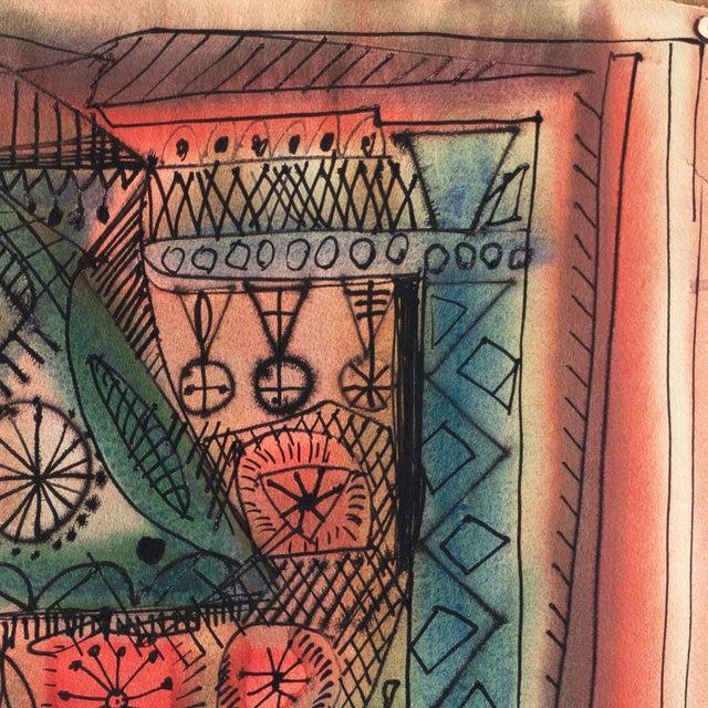 Robert Gilberg Vintage Dynamic Abstract - Image 3 of 7