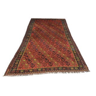 "RugsinDallas Antique Russian Caucasian Area Rug - 3'11"" X 7'4"""