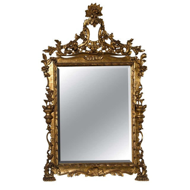 French Belle Epoque Style Mirror - Image 1 of 7