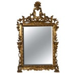 Image of French Belle Epoque Style Mirror