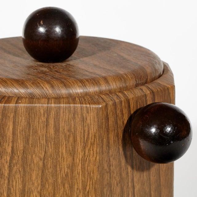 1960's Wood-Grain Ice Bucket - Image 4 of 4