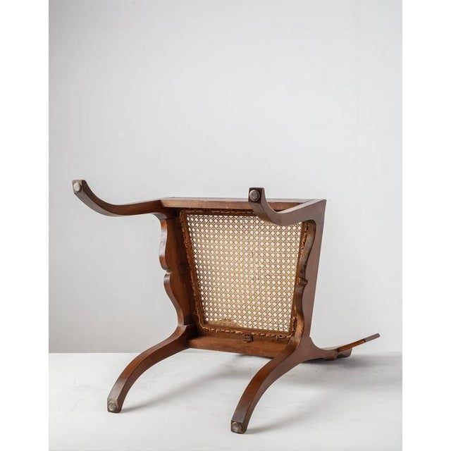 Ole Peter Momme Oak and Cane Klismos Chair, Denmark, 1880s - Image 6 of 10