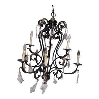 French Style Two Tier Chandelier