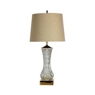 Vintage Fine Crystal Table Lamp