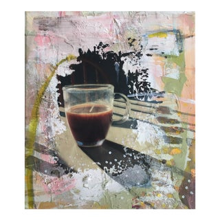Christine Bush Roman Coffee Painting