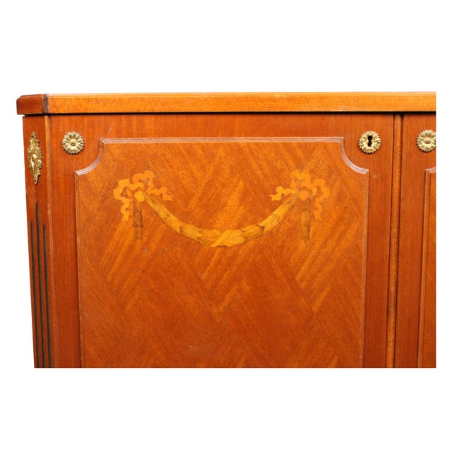 Image of 1940s Directoire Style Radio Console