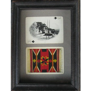 Vintage Southwestern Photo Souvenir Cards, Framed
