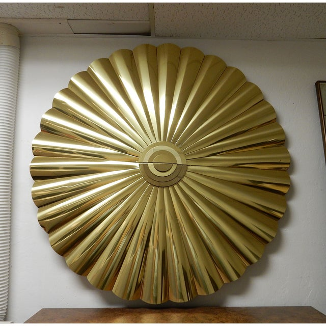 Large Curtis Jere Starburst Wall Sculpture - Image 2 of 7