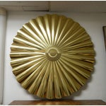 Image of Large Curtis Jere Starburst Wall Sculpture