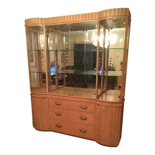 Hickory & White Display Cabinet