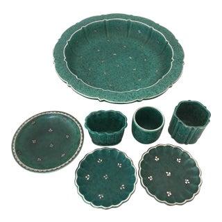 Wilhelm Kage for Gustavsberg Plateware - 7 Pieces