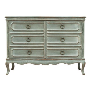 Sarreid Ltd. Serpentine French Commode