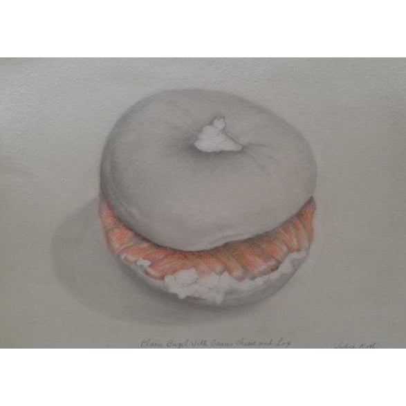 Image of Sylvia Roth - Plain Bagel With Cream Cheese & Lox