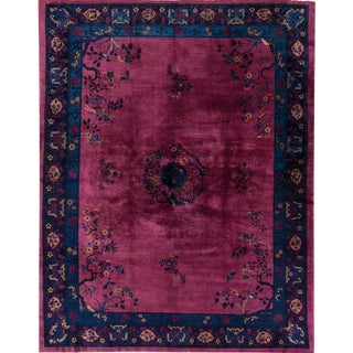 Apadana Antique Chinese Deco Rug - 9' x 12'