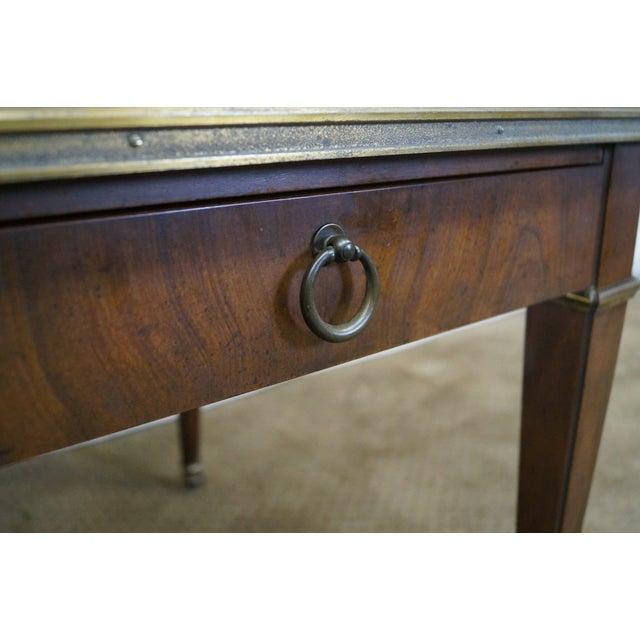 Baker Vintage Walnut Regency Directoire End Table - Image 5 of 10