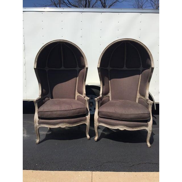 Restoration Hardware Versailles Dome Chairs Pair Chairish