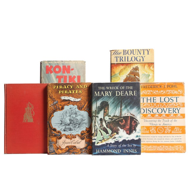 Image of Seafaring Book Selection - Set of 20