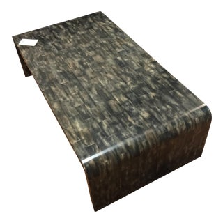 Black Horn Coffee Table