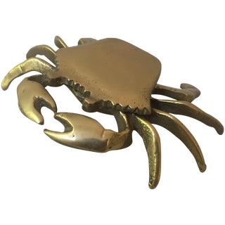 Brass Crab Box