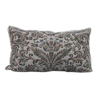 Custom Fortuny Textile Pillows - A Pair