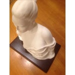 Image of Italian Woman Bust Sculpture by Emilio Cassarotto
