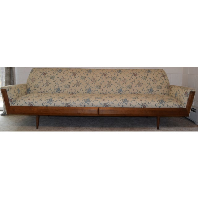 Pearsall Style Mid-Century Modern Gondola Sofa - Image 3 of 4