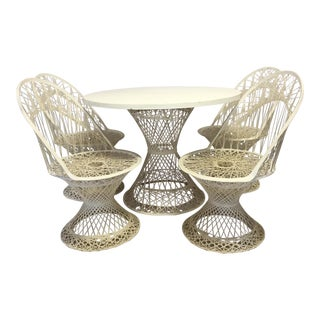 Russell Woodard Spun Figerglass Dining Set - Set of 5
