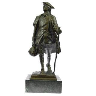 Benjamin Franklin Bronze Sculpture