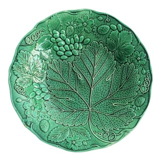 Wedgwood Majolica Grape Plate