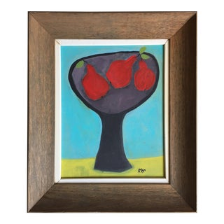 "Rose Walton ""Red Pears"" Painting"