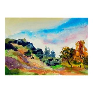 Big Sur Autumn by Les Anderson
