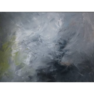 """""""Shifting Clouds"""" Abstract Painting by Kris Gould"""