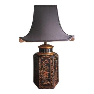 Silk Shade Pagoda Lamp