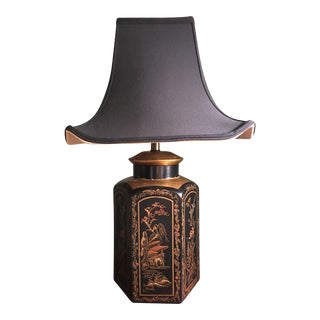 Silk Shade Pagoda Lamp