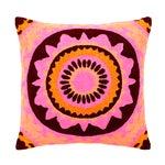 Image of Pink & Orange Boho Chic Trance Pillow