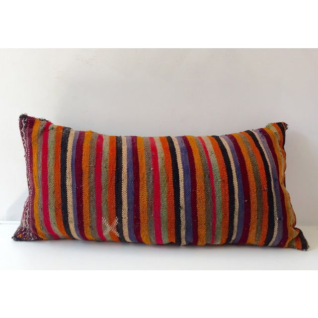 Dhurrie Lumbar Pillow - Image 2 of 8
