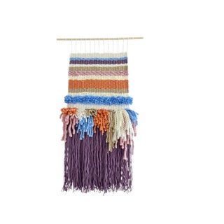 Striped Woven Wall Hanging