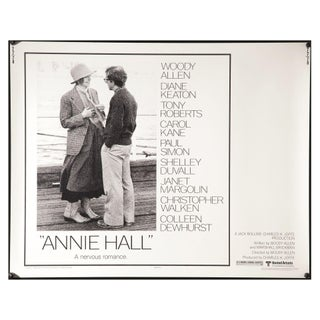 """Annie Hall"" 1977 Film Poster"