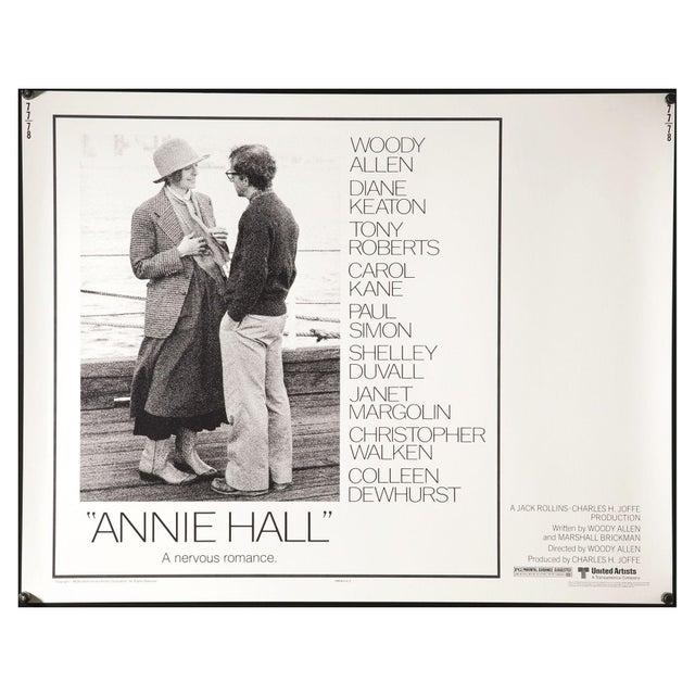 """""""Annie Hall"""" 1977 Film Poster - Image 1 of 3"""