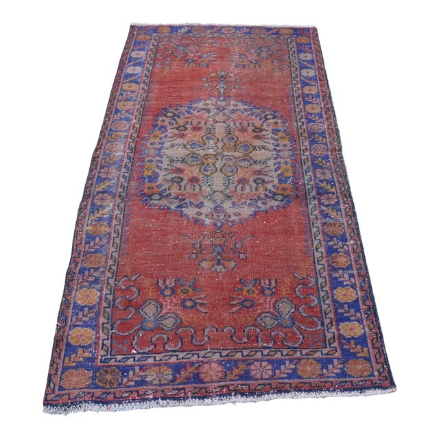 Vintage Turkish Rug - 2′9″ × 5′10″ - Image 1 of 6