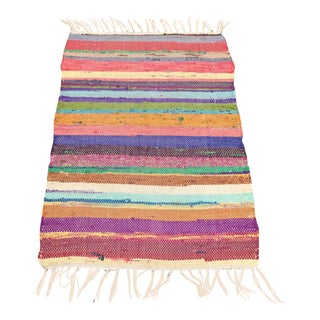 Multi Color Boucherette Rug - 2' X 3'