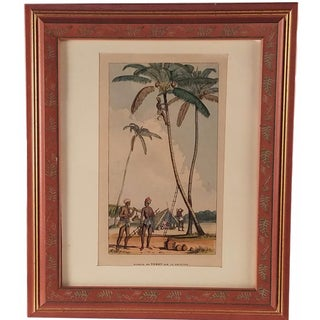 Framed Tahitian Print