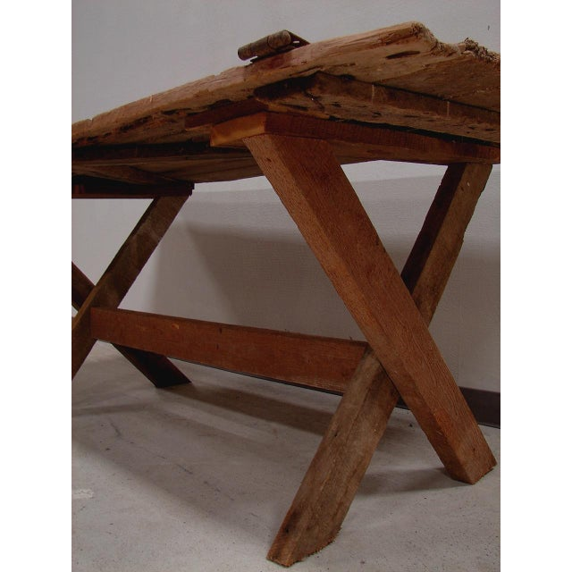 Image of Vintage Farmhouse Door Table
