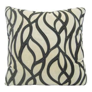 Contemporart Woven Beige Pillow