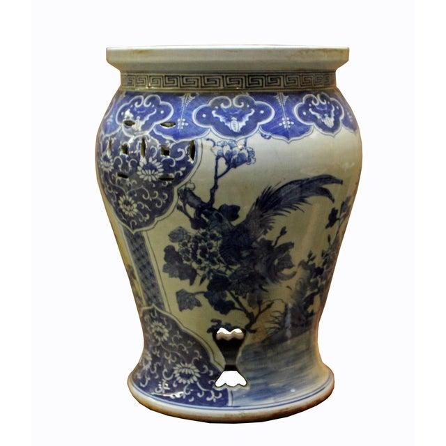 Chinese Blue & White Porcelain Stool - Image 5 of 8