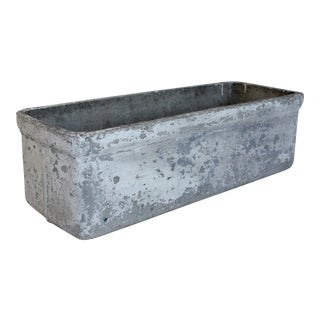 Vintage Belgian Cement Planter Box