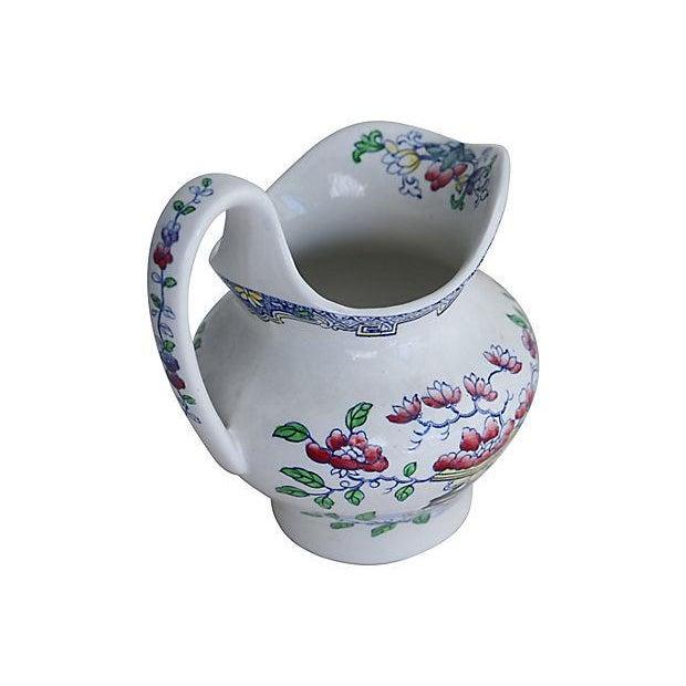 Antique Minton's Floral Jug - Image 2 of 3