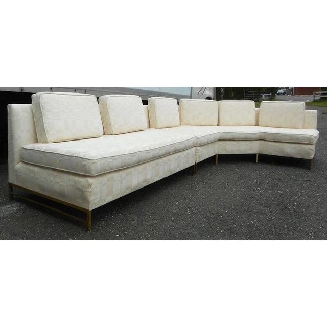 Impressive Two-Piece Mid-Century Modern Sofa by Paul McCobb for Directional - Image 3 of 11