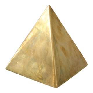 Vintage Brass Pyramid